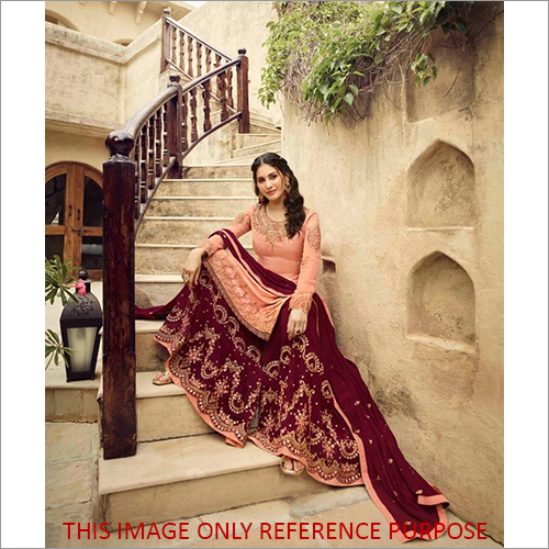 Embroidery Sharara Suit