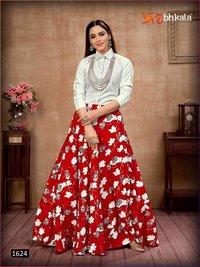 Shubhkala Frill And Flare Vol 4 Designer Top And Bottom Catalog