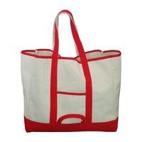 Self Handle 20 Oz Natural Canvas Tote Bag