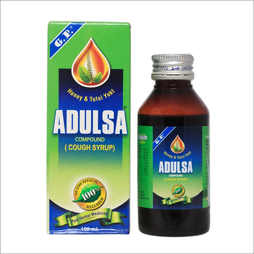 Ayurvedic Adulsa Cough Syrup