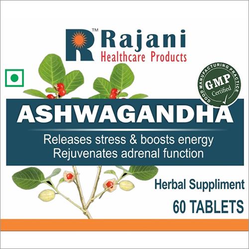 Ayurvedic Medicine Herbal And Ashwagandha Tablet