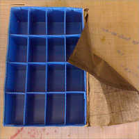 PP Bubble Guard Boxes With Partition