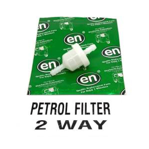 PETROL FILTER 2 WAY