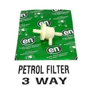PETROL FILTER 3 WAY