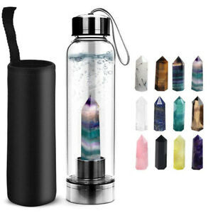 Healing Crystal Water Bottle
