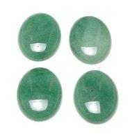 4x6mm Green Aventurine Oval Cabochon Loose Gemstones