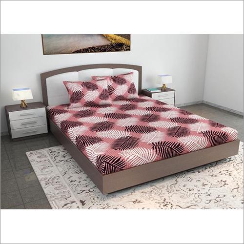 Check Printed Bedsheet Set