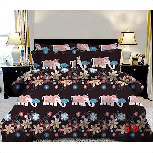 Multicolor 3D Bed sheet Set