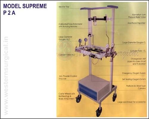 ANAESTHESIA MACHINE TROLLY MODEL SUPREME