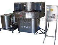 Semi Automatic Rotary Bottle Washing Machine