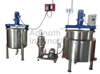 Syrup Preparation Plant