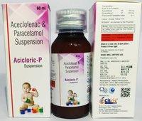 Aceclofenac And Paracetamol Oral Syrup