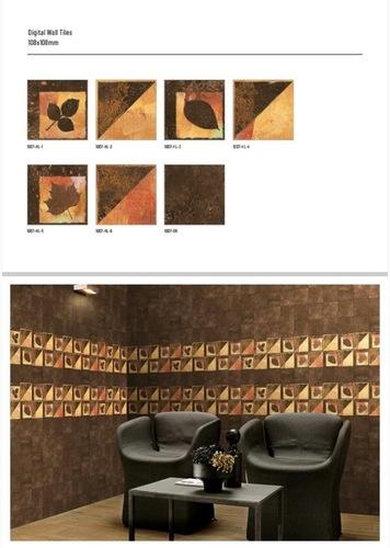 108 X 108 Mm Digital Wall Tiles
