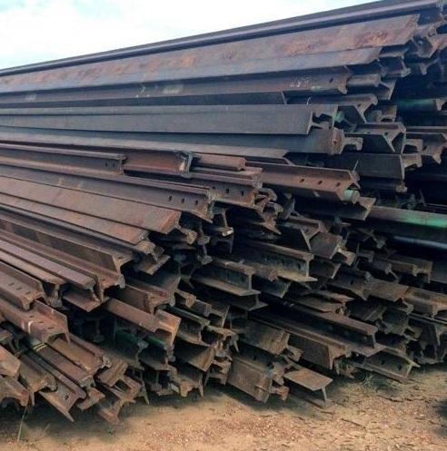 Metal Scrap,used Rails,steel,hms 1/2