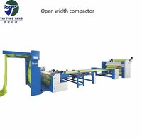 Open Width Compactor Machine for Textile Factory
