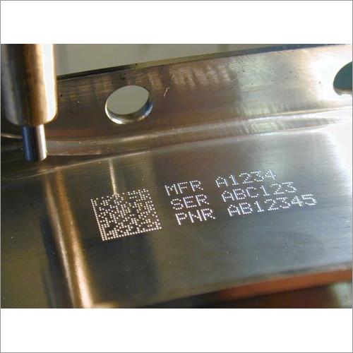 Laser Number Marking Machine