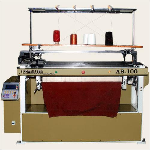 Computerized Flat Knitting Machine Application: Industrial