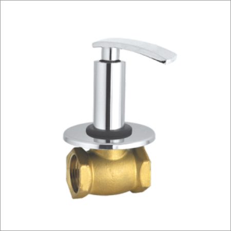 Flush Valve With Wall Flange