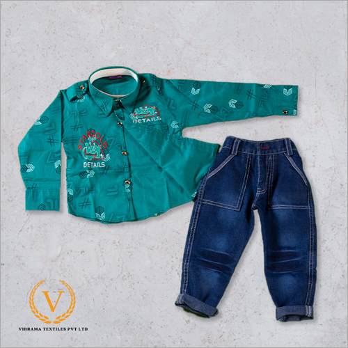 Turquoise Green Shirt With Jeans