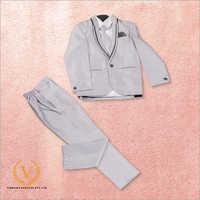 Boys 2 Piece Grey Suit