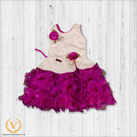 Girls Purple Frock