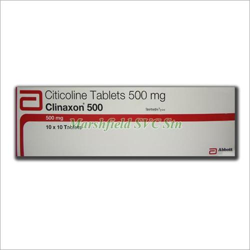 500 mg Citicoline Tablets