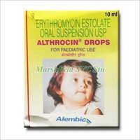 10 ml Erythromycin Estolate Oral Suspension