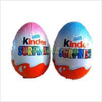 Kinder Surprise Eggs Shape Chocolate
