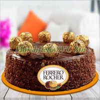 Ferrero Rochers Sweet Chocolate Cake