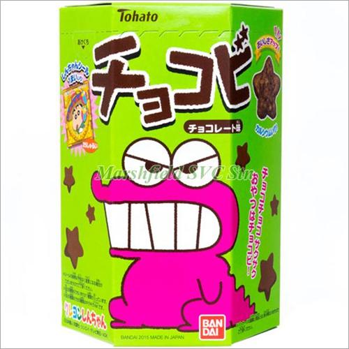 Ready to Eat Tohato Chocobi Star Shaped Chocolate Snacks