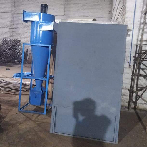 Powder Coating Booth with Cyclone