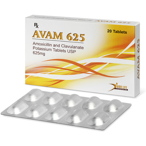 Amoxicillin  + Clavalunic Acid Tablets