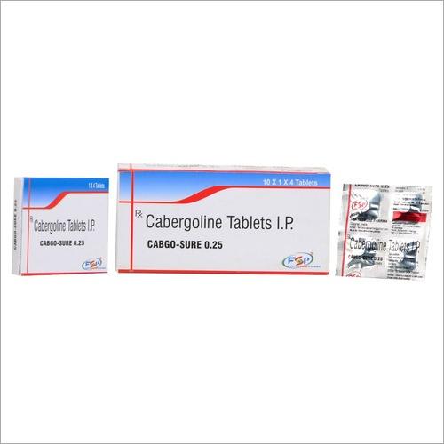 Cabergoline Tablets Ip 0.25 mg