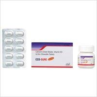 Vitamin D3 Zinc Chewable Tablets