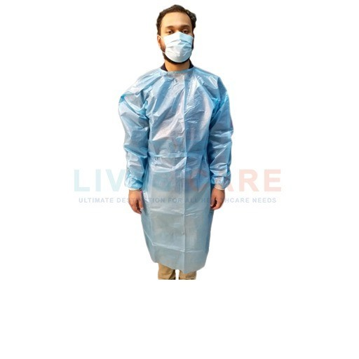 PP + PE (LD) Isolation Gown