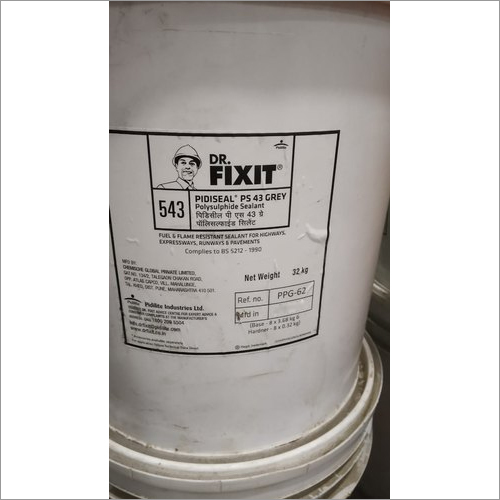 43 Grey, 32 Kg Dr.Fixit Polysulphide Sealant Fire Resistance Material
