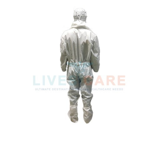 Coverall Suit With Separate Hood & Shoe Cover