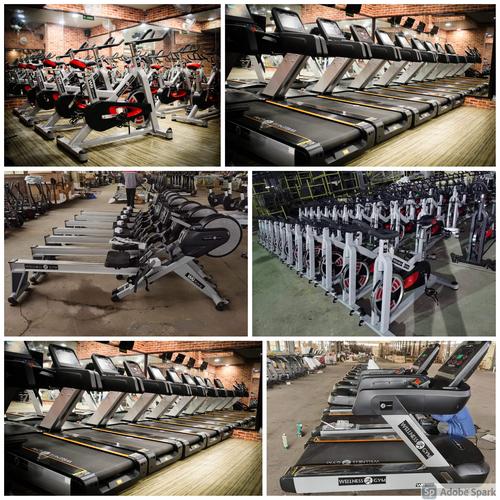 Manual Commercial Gym Setup