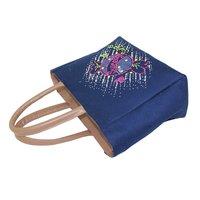 Top Zip Closure 12 OZ Dyed Canvas Hand Bag