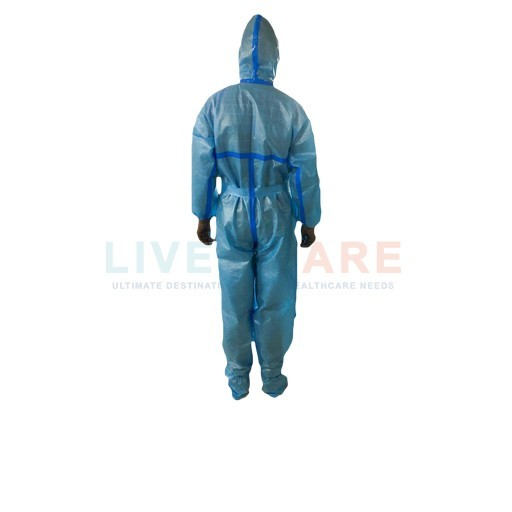 Laminated Coverall With Seam Sealing Taping