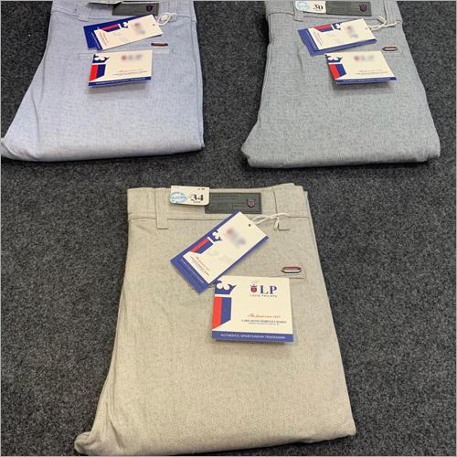 Mens Formal Cotton Trouser