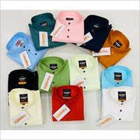 Mens Branded Plain Shirt