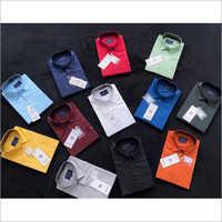 Mens Silk Collar Neck Shirt