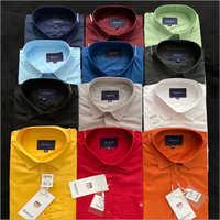 Mens Branded Cotton Shirt
