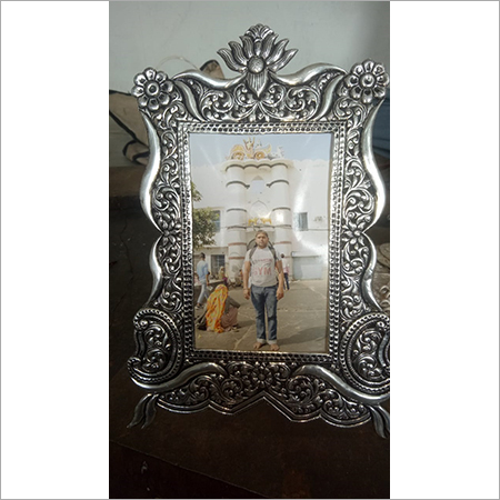 Pure 925 Silver Oxidised Photo Frame