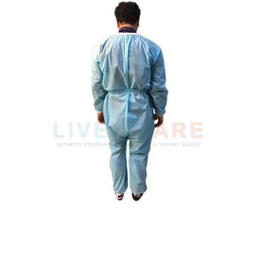 Coverall Suit Without Hood And Shoe Cover