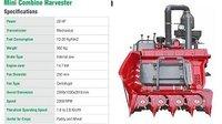 Mini Combine Harvestor