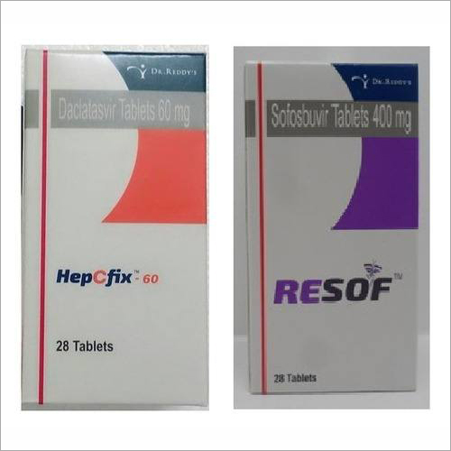 Resof Tablet + hepcfix 60 mg Tablet