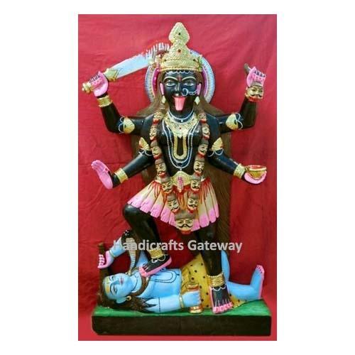 Beautiful Black Stone Kali Maa Moorti For Temple