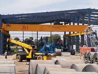 35T - Double Girder EOT Overhead Crane